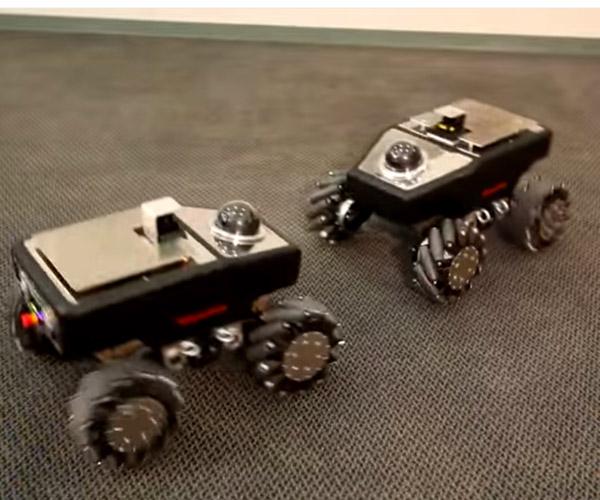 Mecanum-wheeled Robots