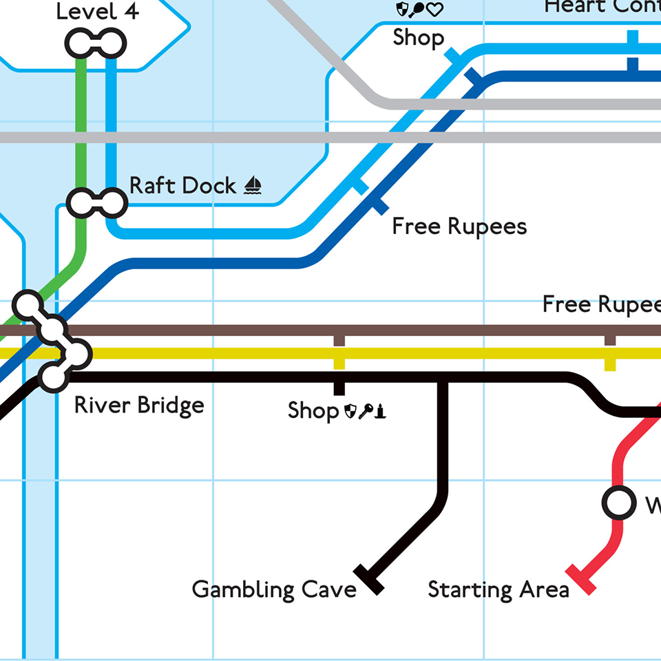NES Subway Maps