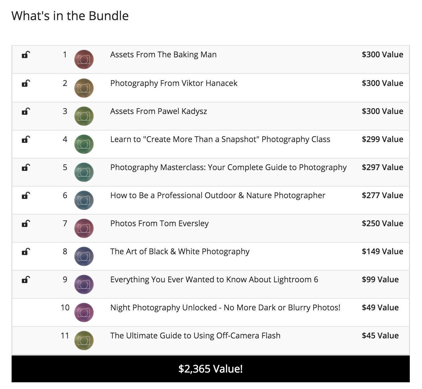 Deal: Expert Photography Bundle