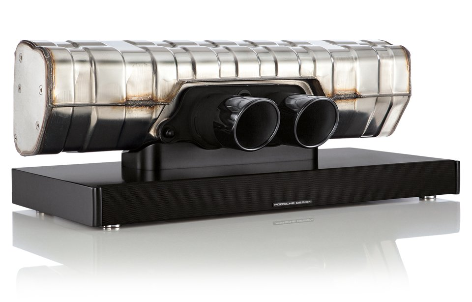 porsche design 911 soundbar the awesomer. Black Bedroom Furniture Sets. Home Design Ideas