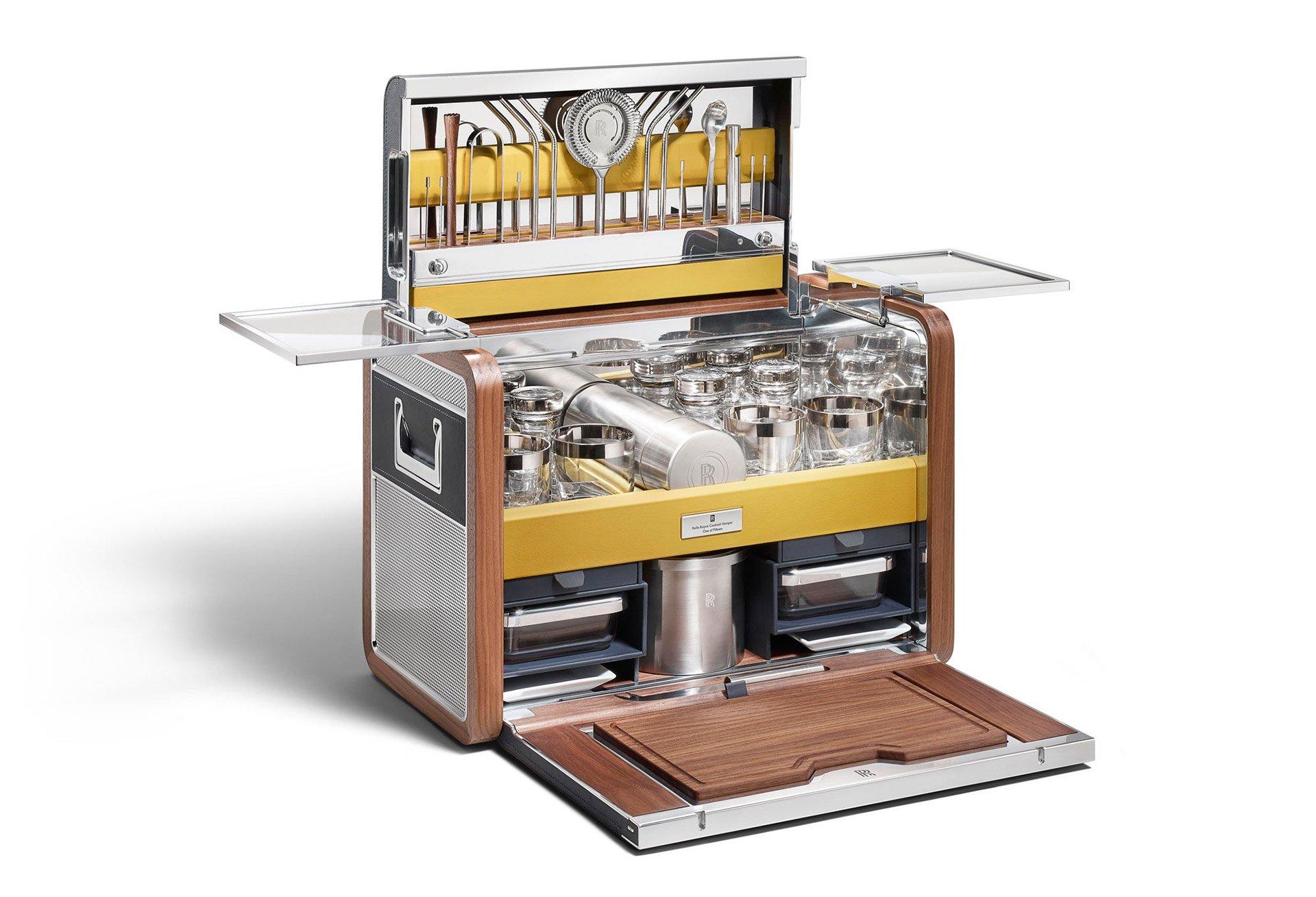Rolls-Royce Cocktail Hamper