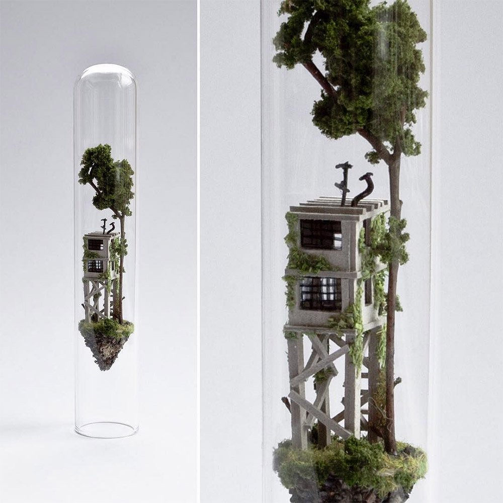 Test Tube Sculptures