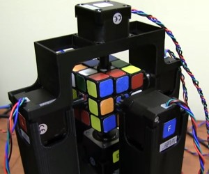 Insanely Fast Rubik's Robot