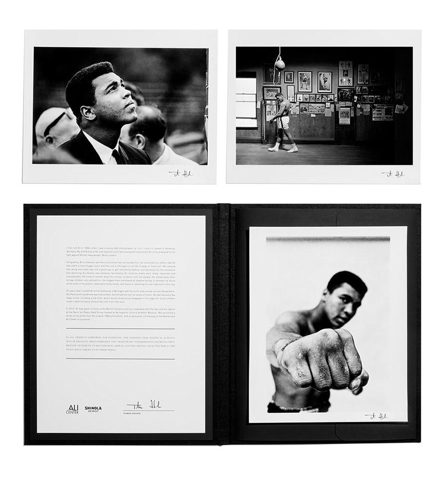 Shinola Muhammad Ali Center Watch