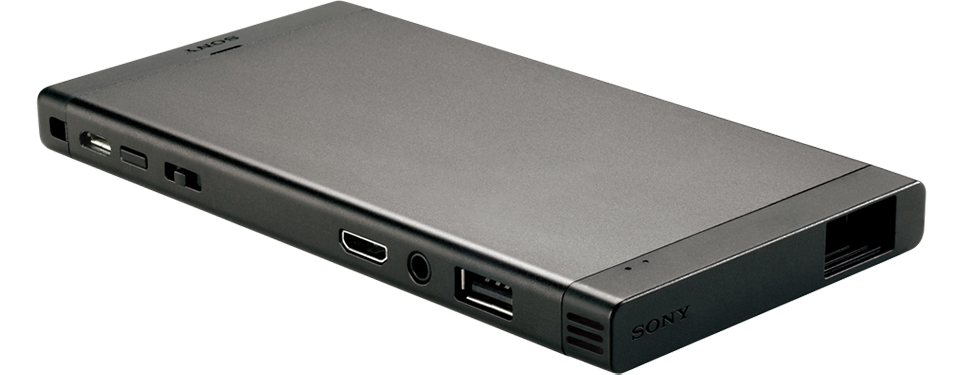 Sony mp cl1 pico projector the awesomer for Pico pocket projector best buy