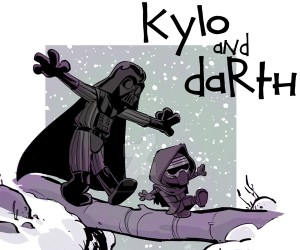 The Force Awakens x Calvin & Hobbes