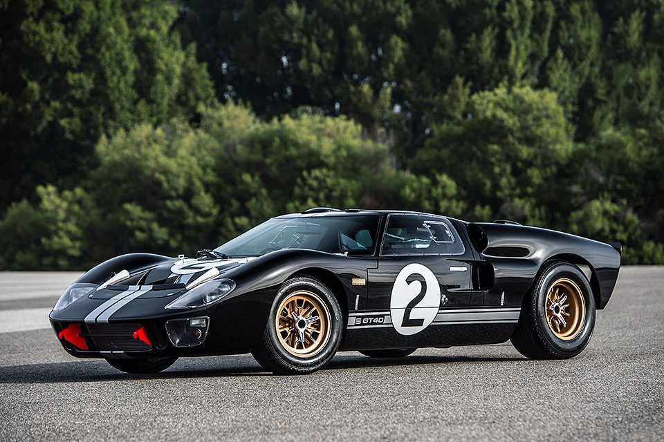 50th anniversary ford gt40 mk ii the awesomer. Black Bedroom Furniture Sets. Home Design Ideas