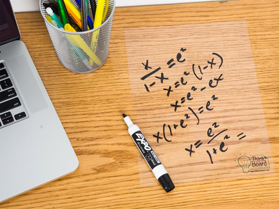 Think Board Dry Erase Decals