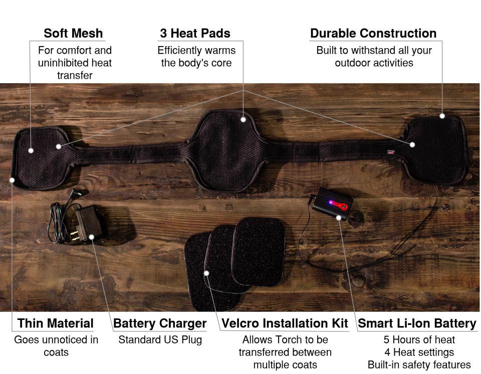 Torch Coat Heater