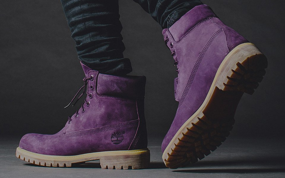Fantastic Timberland 6 Inches Premium Nubuck Boots In Purple  Lyst
