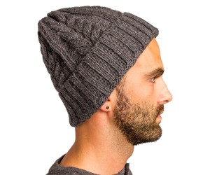 Deal: Wool Cable Beanie
