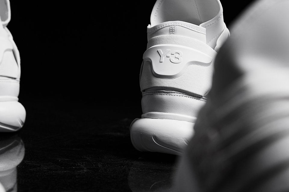 Y-3 Qasa High Triple White