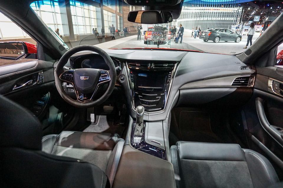 Up Close: 2016 Cadillac CTS-V