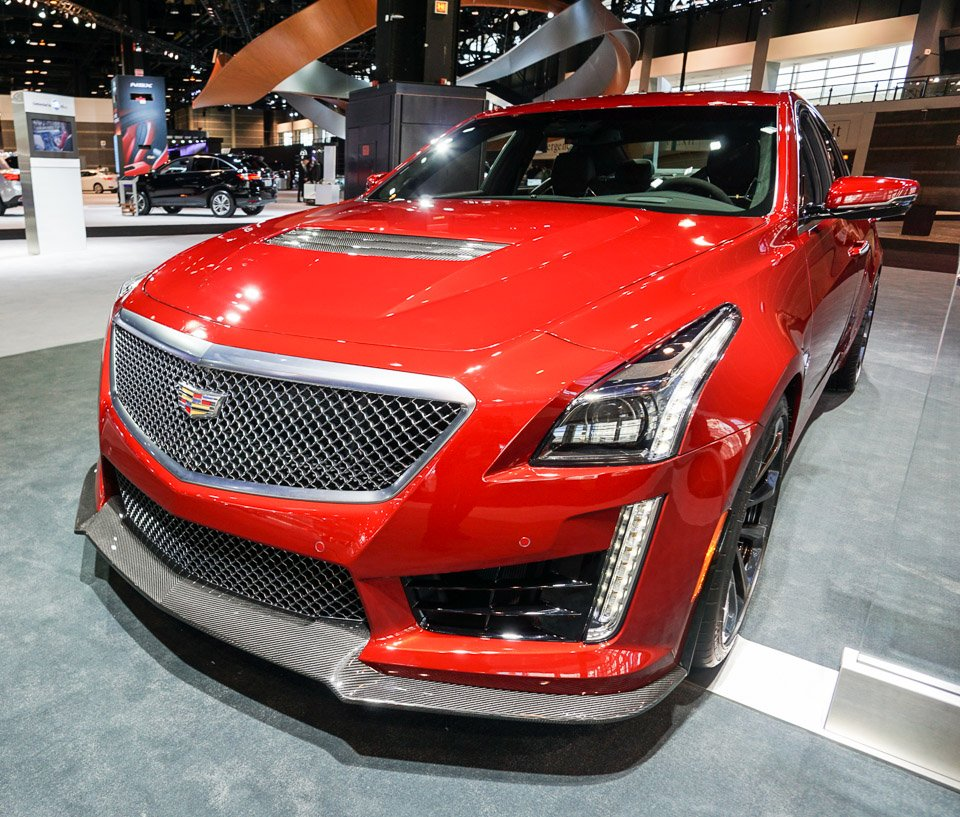 Review 2016 Cadillac Cts V: Up Close: 2016 Cadillac CTS-V