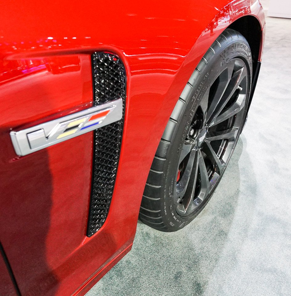 Up Close: 2016 Cadillac CTS-V