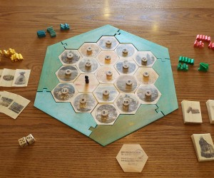 DIY 2×4 Settlers of Catan