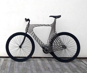 3D Printed Steel Bike