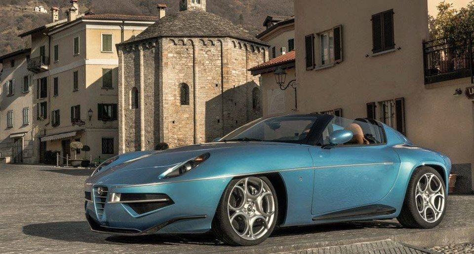 alfa romeo disco volante spider the awesomer. Black Bedroom Furniture Sets. Home Design Ideas