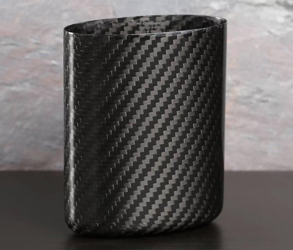 Carbon Fiber Pen Cup