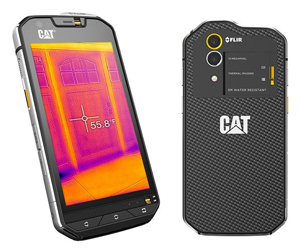 cat s60 smartphone w flir. Black Bedroom Furniture Sets. Home Design Ideas