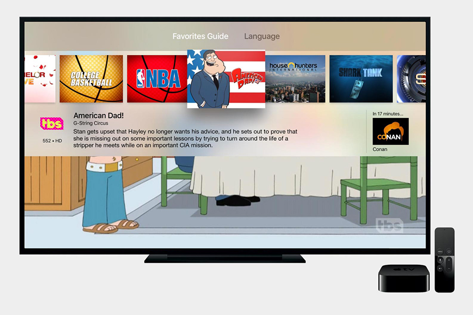 Channels for Apple TV - The Awesomer