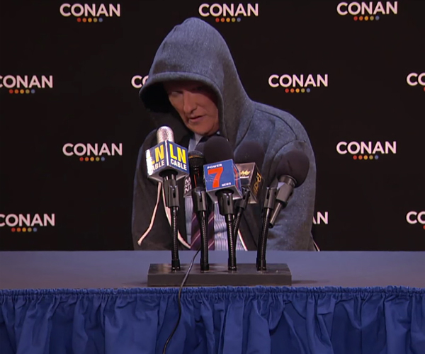 Conan's Post-joke Press Con