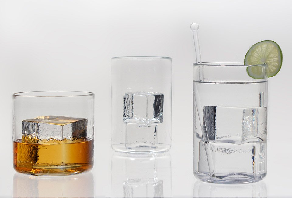 Cube & Sphere Glasses