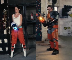 Chell vs. Gordon