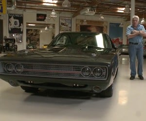 Leno Checks out the Charger Tantrum