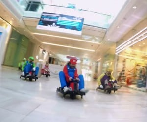 Mario Kart at the Mall