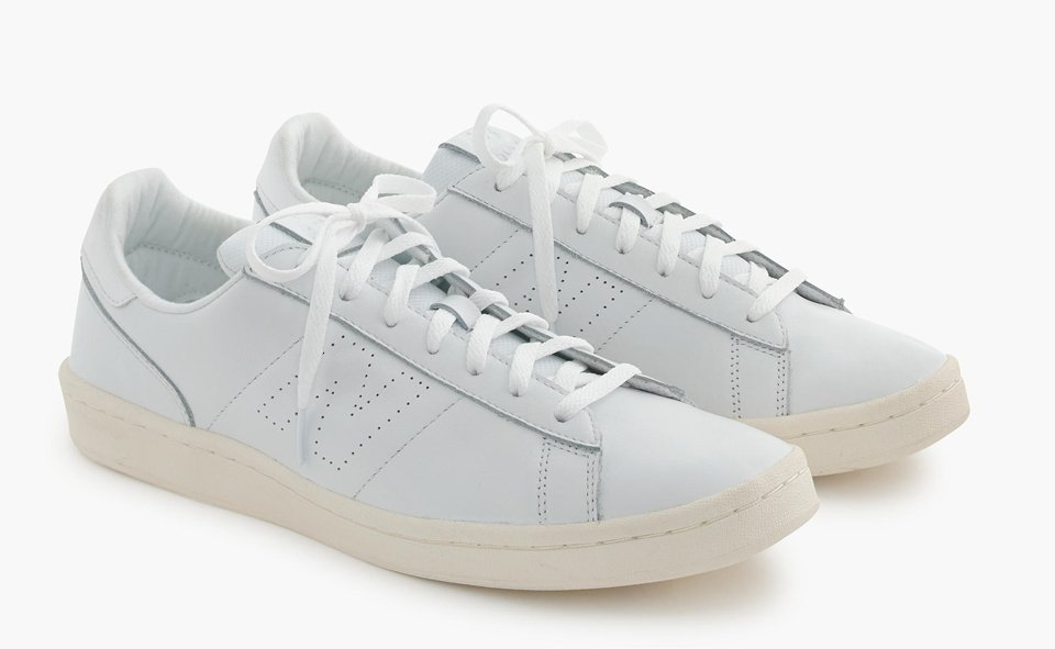 j crew new balance tennis shoes