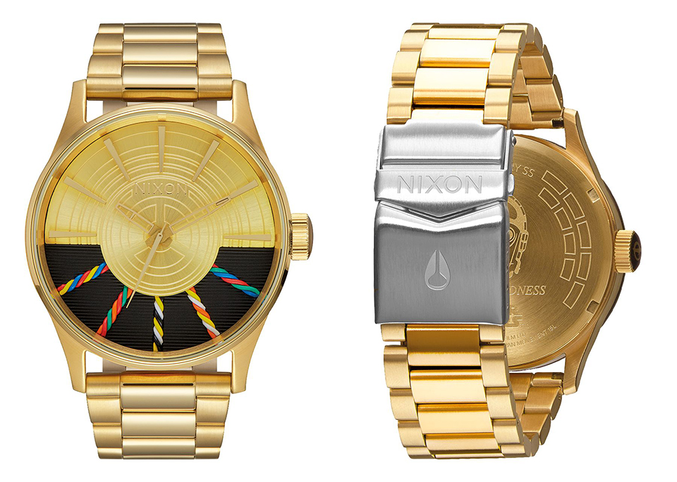 nixon x star wars c 3po sentry the awesomer