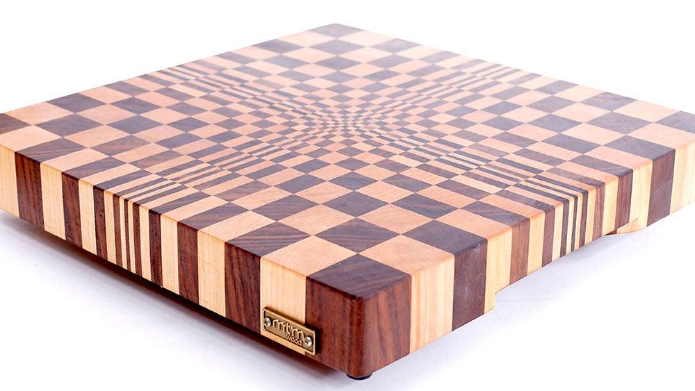 Making a 3D Illusion Cutting Board