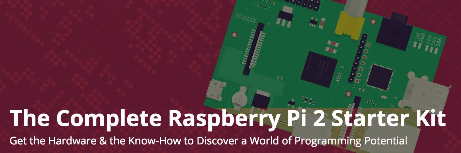 Deal: Raspberry Pi 2 Starter Kit