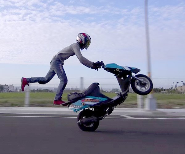 Freestyle Scooter Tricks