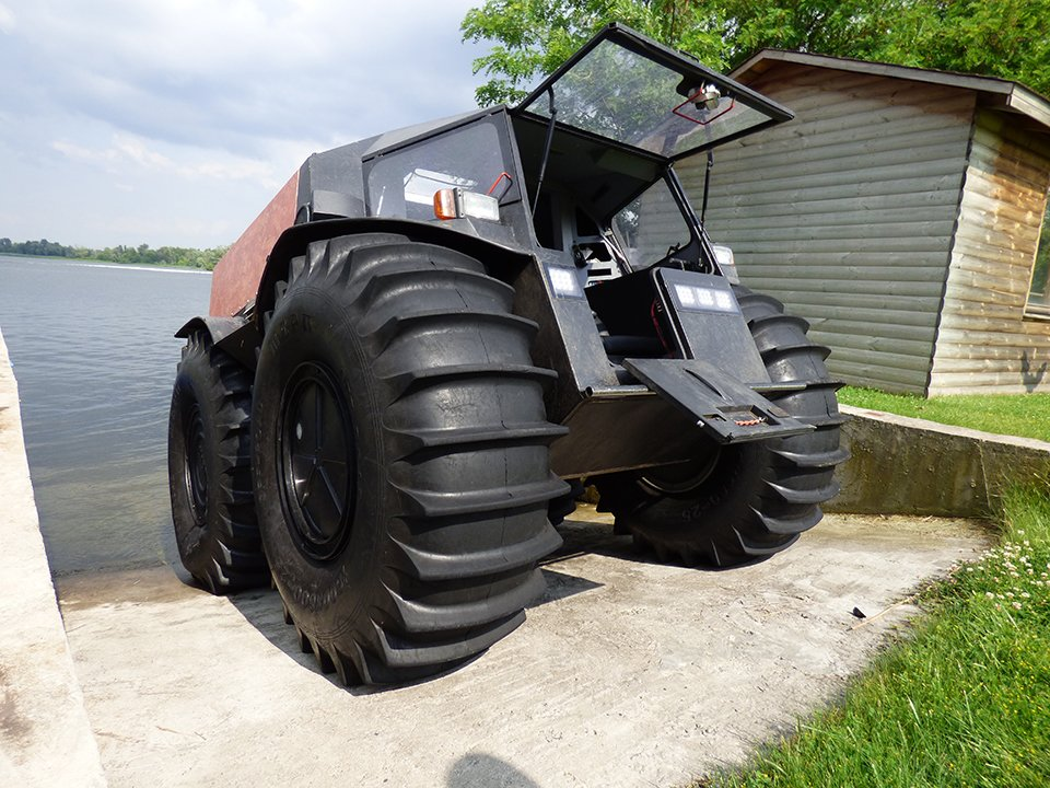 All Terrain Tires >> Sherp ATV - The Awesomer