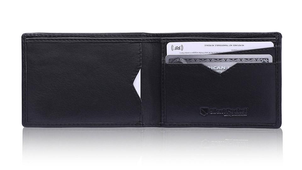 Deal: Silent Pocket Leather Wallet