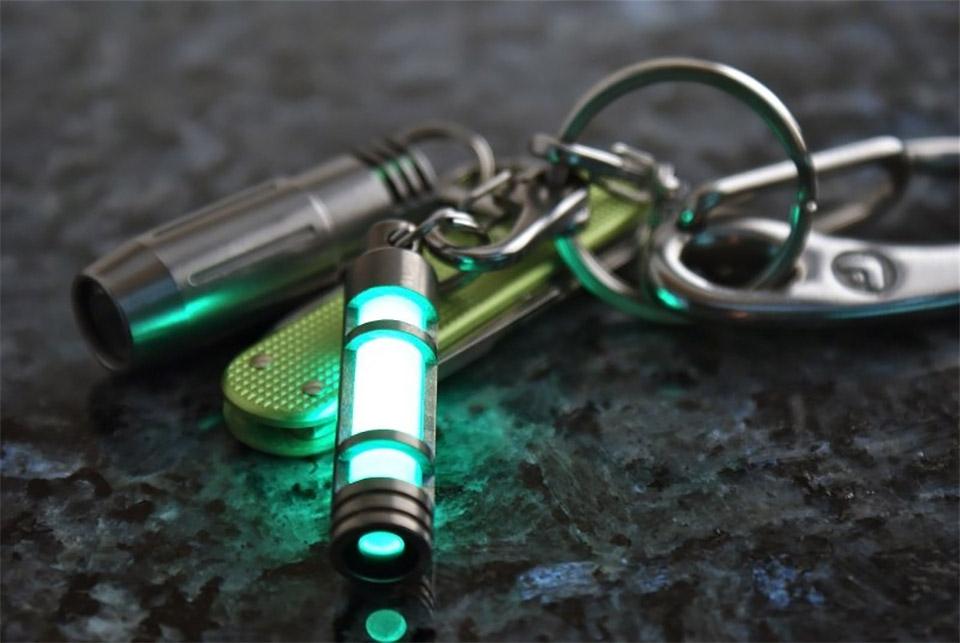 Titanium Glow Fob
