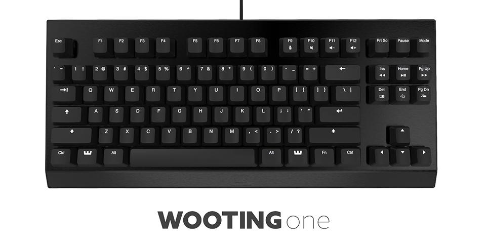 Wooting One Analog Keyboard