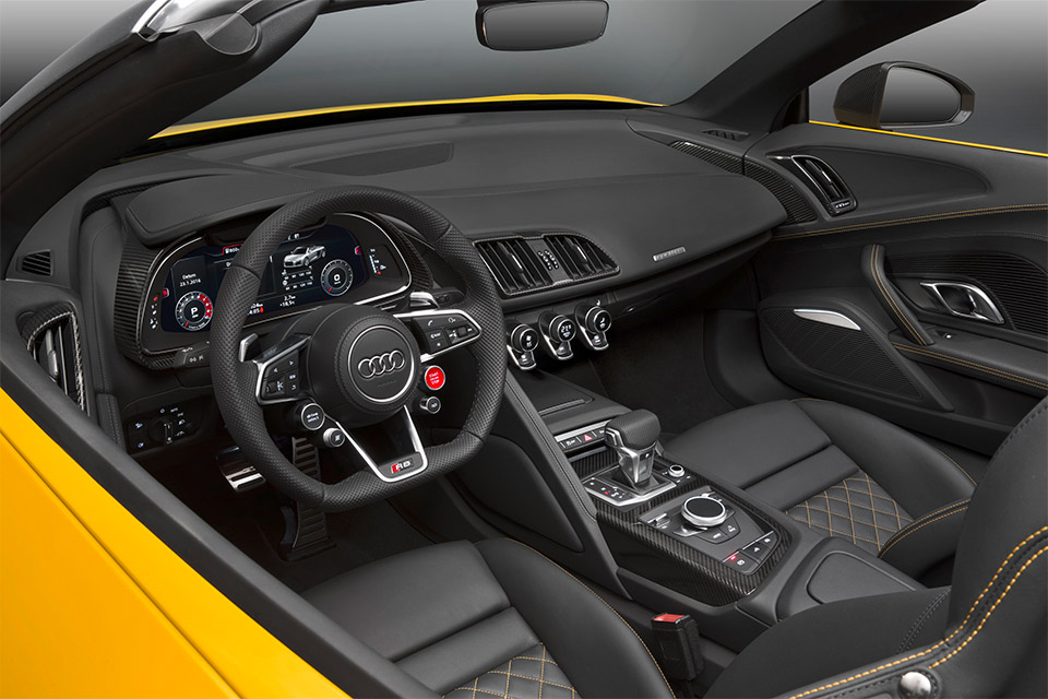 2017 Audi R8 Spyder V10