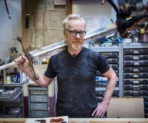 Adam Savage Makes Hellboy's Sword