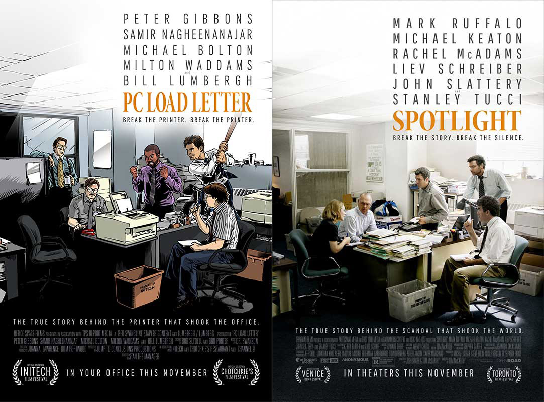 Best Picture Parody Posters