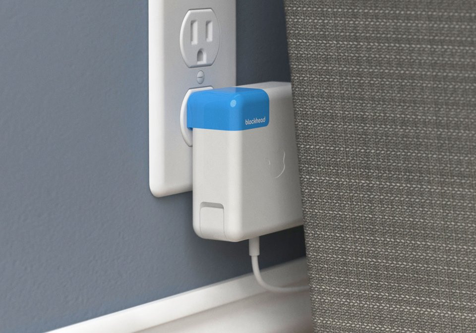 Blockhead Mac Charger Adapter