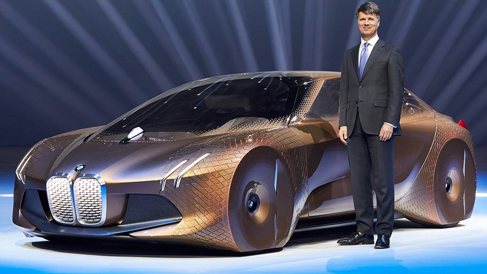 Bmw Vision Next 100 The Awesomer