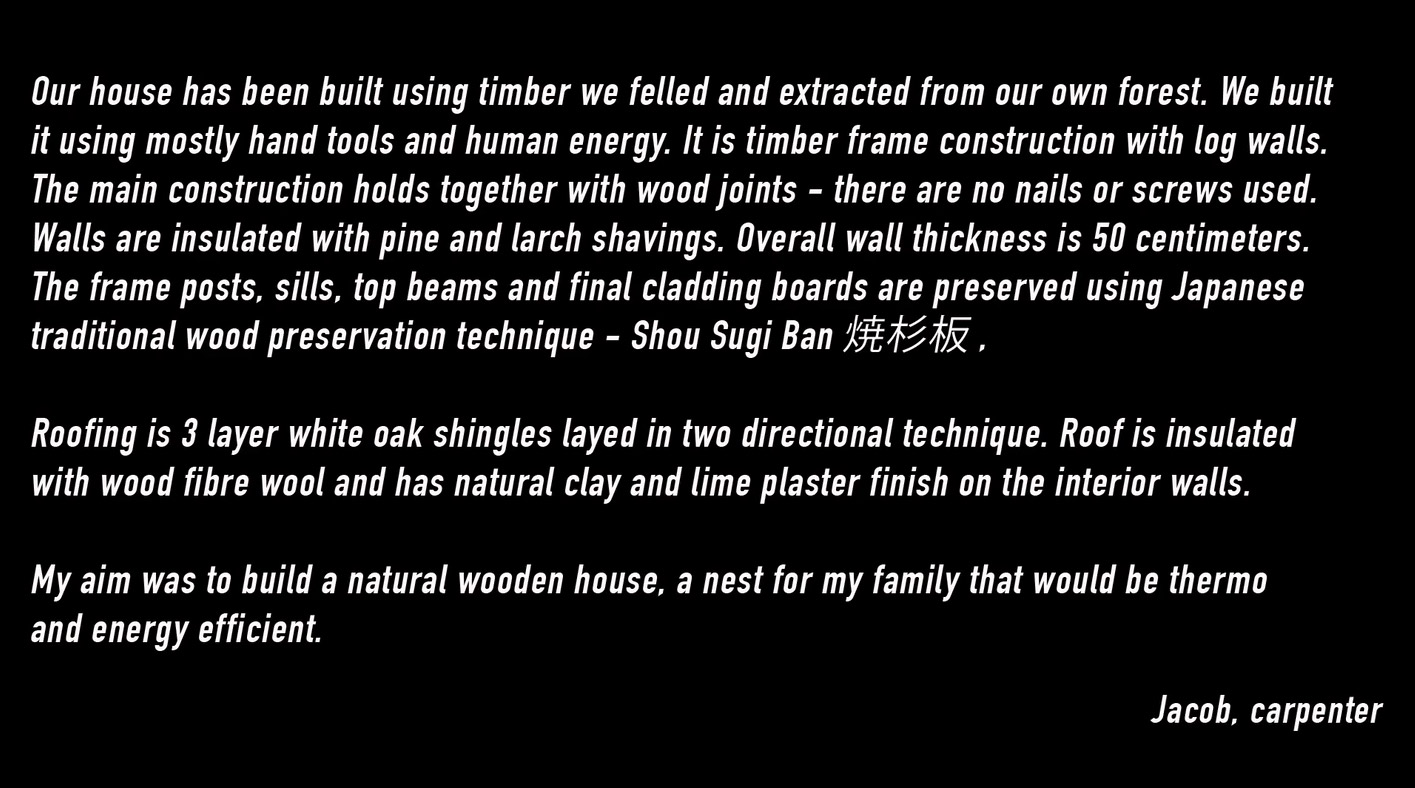 The Birth Of A Wooden House ...