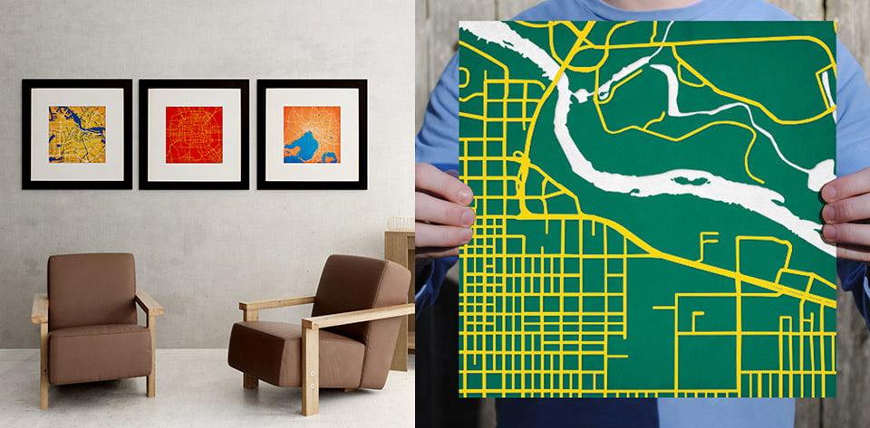 Deal: 12″x12″ City Prints