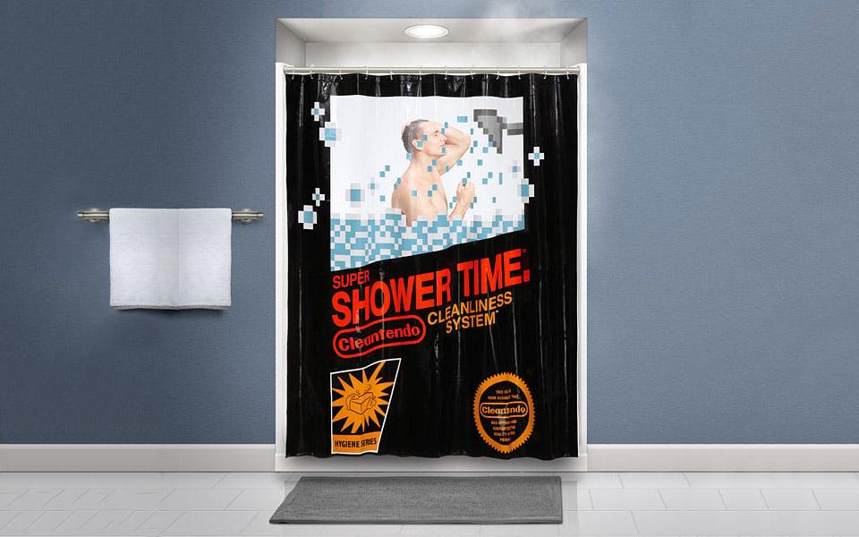Cleantendo Shower Curtain