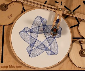 The Cycloid Drawing Machine