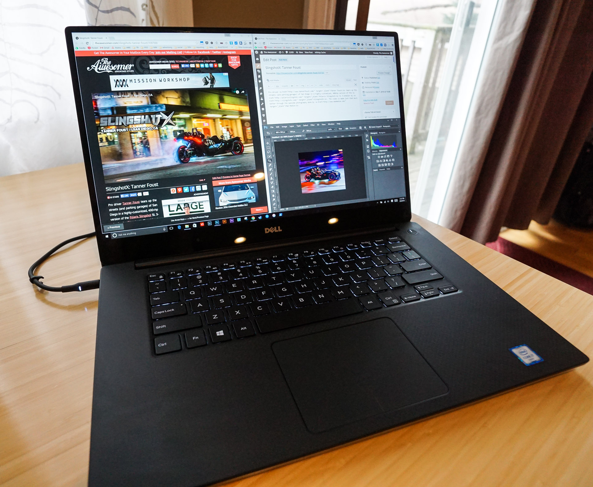 Dell XPS 15: Making Awesome(r) Things