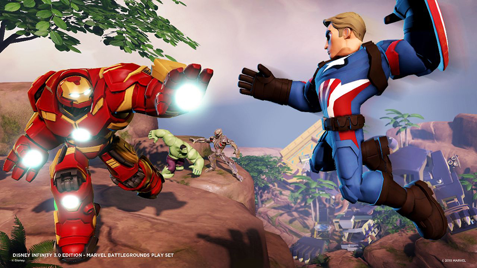 Disney Infinity 3: Marvel Battlegrounds